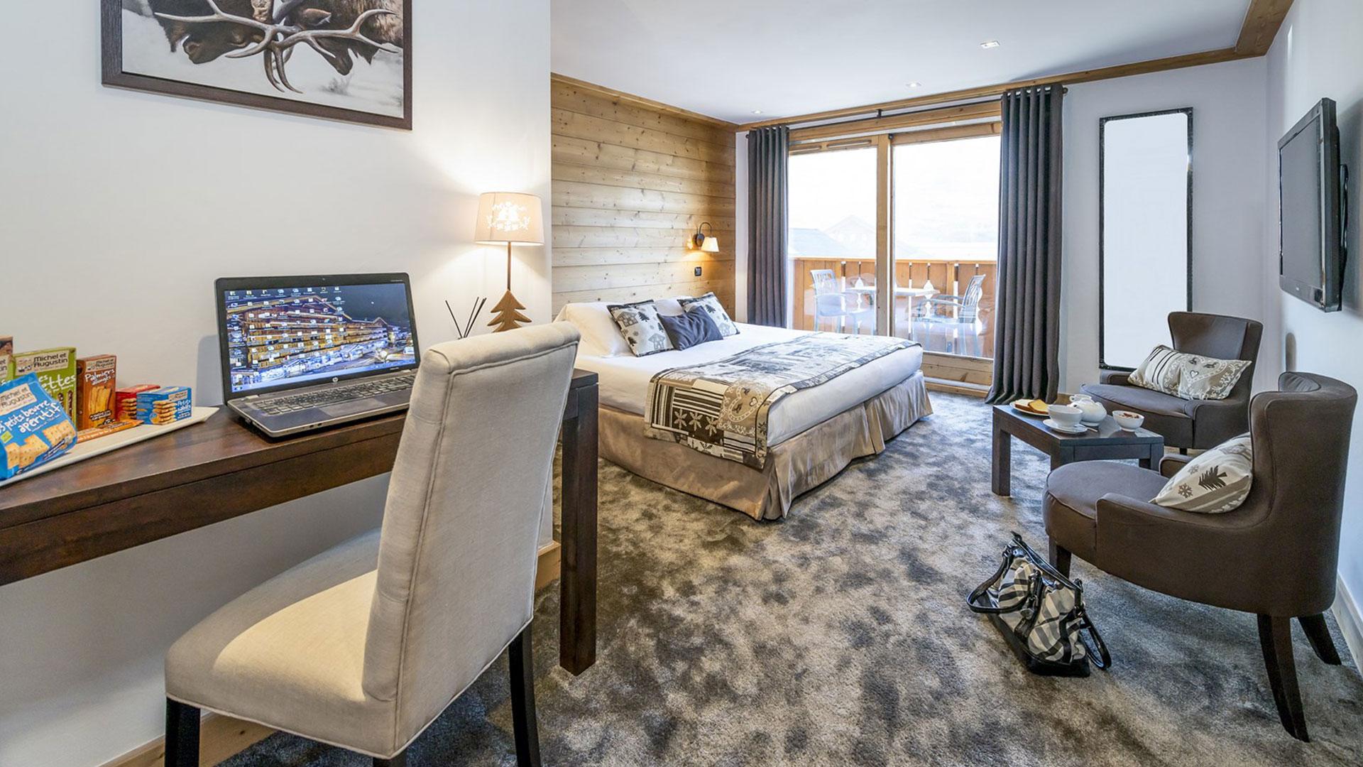 h tel de charme m ribel la chaudanne 4 toiles. Black Bedroom Furniture Sets. Home Design Ideas